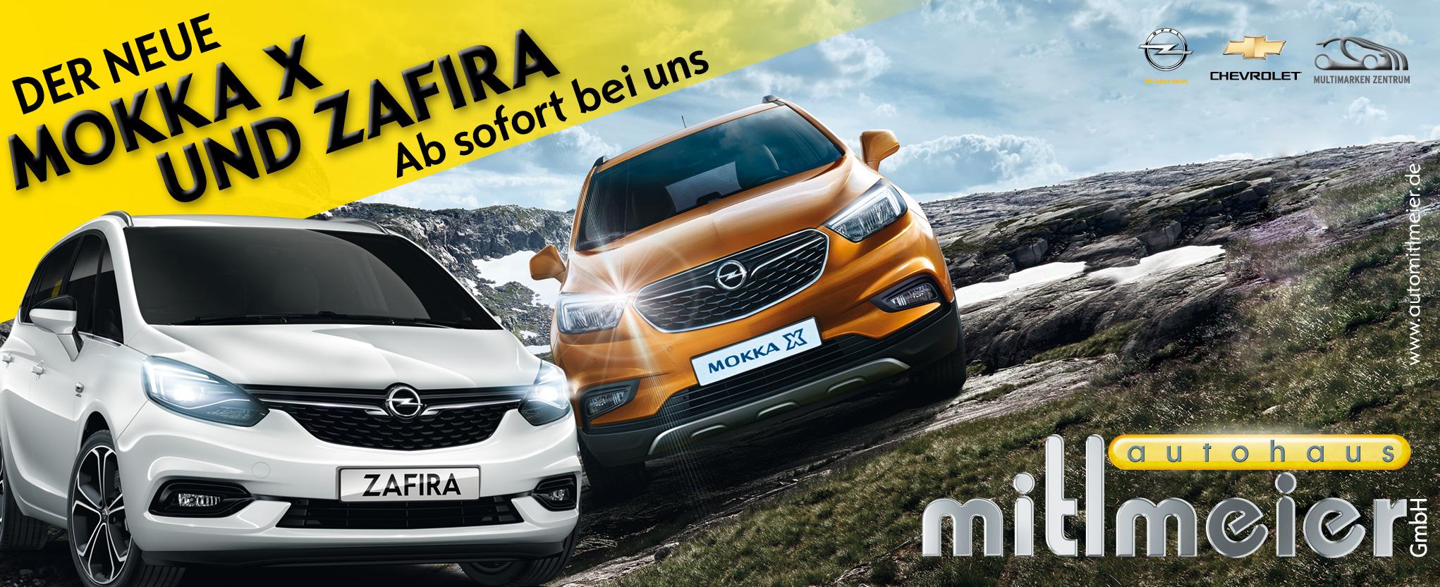 Autohaus Mitlmeier: Mokka X und Zafira